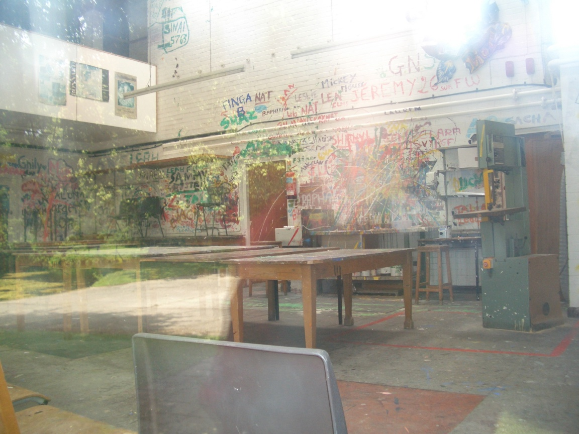 Carmel College: Art room