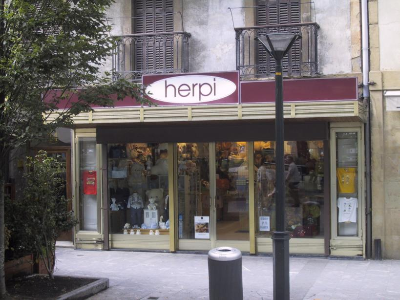 this shop has herpies (well I thought it was funny)
